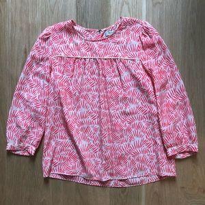 Madewell silk blouse small